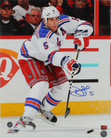 Daniel Girardi Signed Rangers 16x20 Photo (YSMS COA) at PristineAuction.com