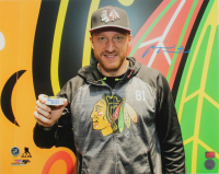 Marian Hossa Signed Blackhawks 16x20 Photo (YSMS COA) at PristineAuction.com