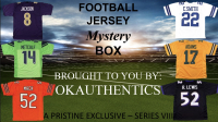OKAUTHENTICS Pro Football Jersey Mystery Box Series VIII at PristineAuction.com