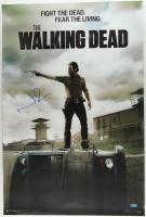 "Norman Reedus Signed ""The Walking Dead"" 24x36 Poster (Radtke Hologram) (See Description) at PristineAuction.com"