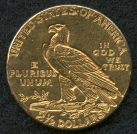 1911 $2.50 Indian Head Gold Coin at PristineAuction.com