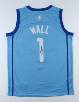 John Wall Signed Rockets Jersey (Beckett COA) at PristineAuction.com