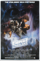 "Anthony Daniels Signed ""Star Wars Episode V: The Empire Strikes Back"" 24x36 Movie Poster Inscribed ""C-3PO"" (Radtke COA) (See Description) at PristineAuction.com"