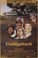 """Chevy Chase Signed """"Caddyshack"""" 24x36 Poster (Beckett COA & Chase Hologram) (See Description) at PristineAuction.com"""