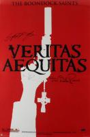 "Norman Reedus, Sean Patrick Flanery, & David Della Rocco Signed ""The Boondock Saints"" 24x36 Movie Poster (Radtke COA) (See Description) at PristineAuction.com"