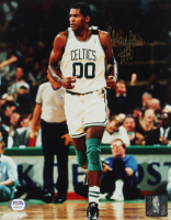 Robert Parish Signed Celtics 8x10 Photo (PSA COA) at PristineAuction.com
