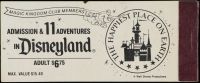 Disneyland Vintage Ticket Book at PristineAuction.com