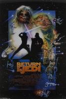 "Jeremy Bulloch Signed ""Star Wars Episode VI: Return of the Jedi"" 24x36 Movie Poster Inscribed ""Boba Fett"" (Radtke COA) at PristineAuction.com"
