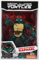 "Kevin Eastman Signed ""Teenage Mutant Ninja Turtles"" - Raphael - Ninja Elite Series Action Figure (PA COA) at PristineAuction.com"
