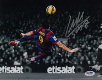 Luis Suarez Signed FC Barcelona 8x10 Photo (PSA COA) at PristineAuction.com
