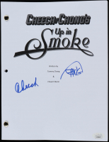 "Cheech Marin & Tommy Chong Signed ""Up in Smoke"" Movie Script (JSA COA) at PristineAuction.com"