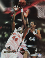 George Gervin Signed LE Spurs 8x10 Photo (PSA COA) at PristineAuction.com