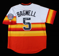 "Jeff Bagwell Signed Astros Jersey Inscribed ""HOF '17"" (TriStar Hologram) at PristineAuction.com"