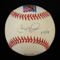 "Cal Ripken Jr. Signed LE OAL ""2500 Consecutive Games"" Baseball with Postmark (JSA COA) (See Description) at PristineAuction.com"