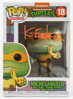 "Kevin Eastman Signed ""Teenage Mutant Ninja Turtles"" - Michelangelo #18 Funko Pop! Vinyl Figure (PA COA) at PristineAuction.com"