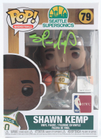 Shawn Kemp Signed SuperSonics #77 Funko Pop! Vinyl Figure (PSA COA) at PristineAuction.com