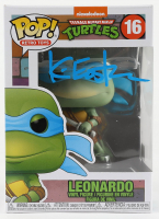 "Kevin Eastman Signed ""Teenage Mutant Ninja Turtles"" - Leonardo #16 Funko Pop! Vinyl Figure (PA COA) at PristineAuction.com"