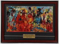 """LeRoy Neiman """"The Kentucky Derby"""" 16.5x22 Custom Framed Print Display at PristineAuction.com"""