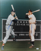Joe DiMaggio & Ted Williams Signed 16x20 Photo (JSA LOA) at PristineAuction.com