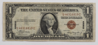 1929 $1 One Dollar U.S. Hawaii Overprint World War II Silver Certificate Bank Note at PristineAuction.com