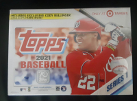 2021 Topps Target Retail Exclusive Baseball Card Box with (16) Packs at PristineAuction.com