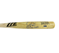 "Evan Gattis Signed Game-Issued Marucci KW24 Custom Cut - A Engraved Baseball Bat Inscribed ""El Oso Blanco"" & ""Game Issued 2014"" (Radtke COA) at PristineAuction.com"