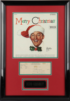 Bing Crosby Signed 19x27 Custom Framed Cut Display (PSA COA) (See Description) at PristineAuction.com