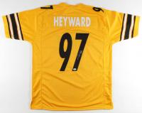 Cameron Heyward Signed Jersey (Beckett COA) at PristineAuction.com