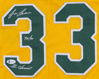 "Jose Canseco Signed Jersey Inscribed ""40/40"" & ""The Chemist"" (Beckett COA) at PristineAuction.com"