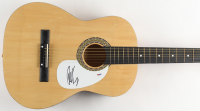 "Chad Kroeger Signed 38"" Acoustic Guitar (PSA COA) at PristineAuction.com"