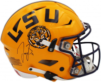 Joe Burrow Signed LSU Tigers Full-Size Authentic On-Field Speedflex Helmet (Fanatics Hologram) at PristineAuction.com