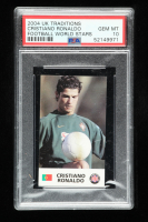 Cristiano Ronaldo 2004 UK Traditions Football World Stars RC (PSA 10) at PristineAuction.com