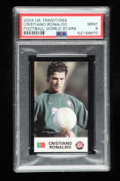 Cristiano Ronaldo 2004 UK Traditions Football World Stars RC (PSA 9) at PristineAuction.com