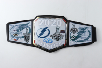 Victor Hedman Signed 2020 Stanley Cup Champions Belt (Hedman COA) at PristineAuction.com