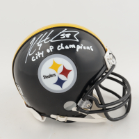 "Kris Letang Signed Steelers Mini Helmet Inscribed ""City of Champions"" (Letang COA) at PristineAuction.com"