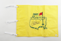 "Jack Nicklaus Signed 2005 Masters Golf Pin Flag Inscribed ""Final Masters"" (JSA LOA) at PristineAuction.com"