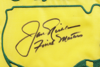 """Jack Nicklaus Signed 2005 Masters Golf Pin Flag Inscribed """"Final Masters"""" (JSA LOA) at PristineAuction.com"""