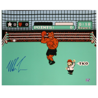 "Mike Tyson Signed ""Punch-Out!!"" 16x20 Photo (Fiterman Sports Hologram) at PristineAuction.com"