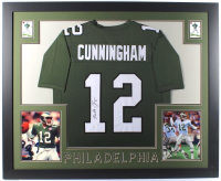 Randall Cunningham Signed 35x43 Custom Framed Jersey (Beckett COA) at PristineAuction.com