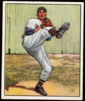 Warren Spahn 1950 Bowman #19 at PristineAuction.com