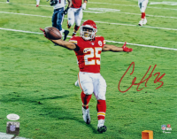 Clyde Edwards-Helaire Signed Chiefs 11x14 Photo (JSA COA) at PristineAuction.com