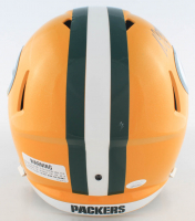 Davante Adams Signed Packers Full-Size Speed Helmet (JSA COA) at PristineAuction.com