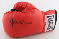 Jake LaMotta Signed Everlast Boxing Glove (JSA COA) at PristineAuction.com