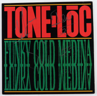 "Funky Cold Medina Signed ""Tone Loc"" Vinyl Record Single (JSA COA) at PristineAuction.com"