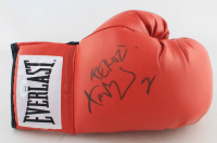 "Fernando Vargas Signed Everlast Boxing Glove Inscribed ""Feroz!"" (JSA COA) at PristineAuction.com"