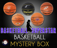 Schwartz Sports Basketball Superstar Signed Basketball Mystery Box - Series 22 (Limited to 100) (Pristine Exclusive Edition) at PristineAuction.com