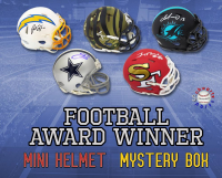 Schwartz Sports Football Award Winner Signed Mini Helmet Mystery Box – Series 2 (Limited to 100) at PristineAuction.com
