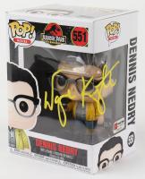 "Wayne Knight Signed ""Jurassic Park"" - Dennis Nedry #551 Funko Pop! Vinyl Figure (PA COA) at PristineAuction.com"