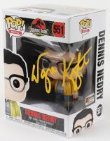 "Wayne Knight Signed ""Jurassic Park"" - Dennis Nedry #551 Funko Pop! Vinyl Figure (PA COA) (See Description) at PristineAuction.com"