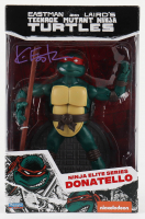 "Kevin Eastman Signed ""Teenage Mutant Ninja Turtles"" - Donatello - Ninja Elite Series Action Figure (PA COA) (See Description) at PristineAuction.com"